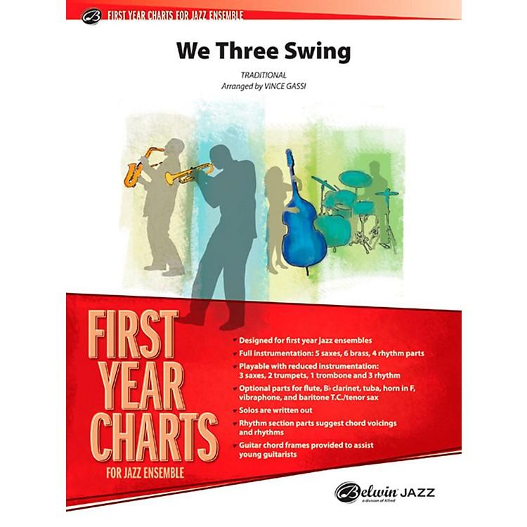 AlfredWe Three Swing Jazz Band Grade 1