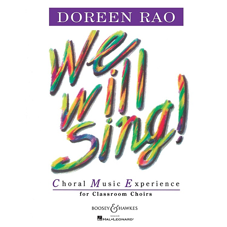 Boosey and HawkesWe Will Sing! (Performance CD) Listening CD Composed by Doreen Rao