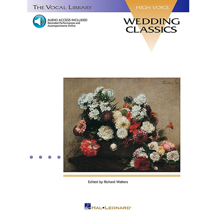 Hal Leonard Wedding Classics for High Voice Book/CD