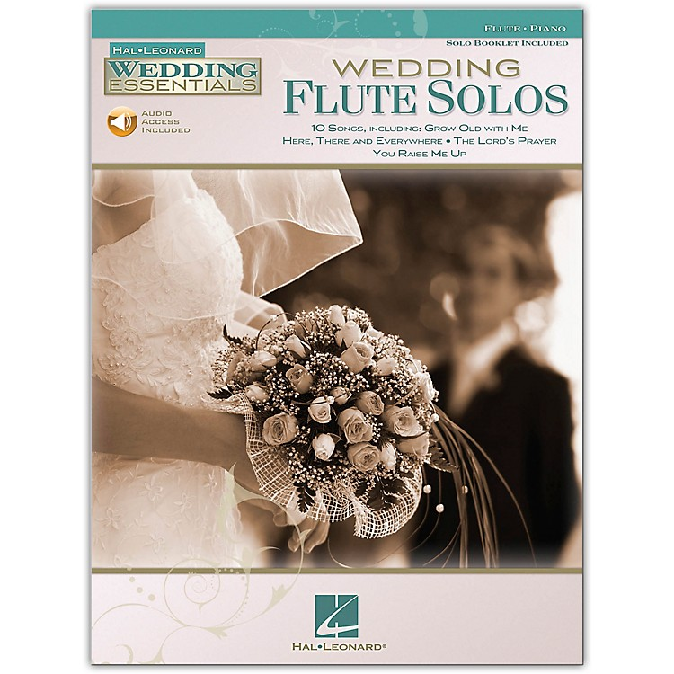 Hal Leonard Wedding Flute Solos - Wedding Essentials Series (Book/CD)