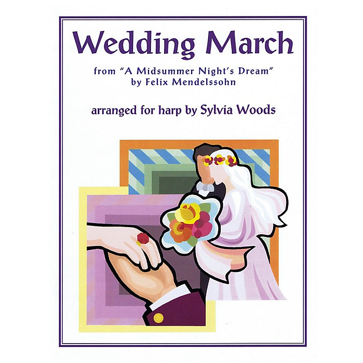 Hal LeonardWedding March from A Midsummer's Night Dream (for Harp) Harp Series Softcover
