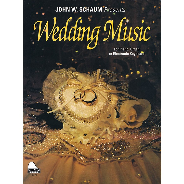 SCHAUMWedding Music Educational Piano Series Softcover