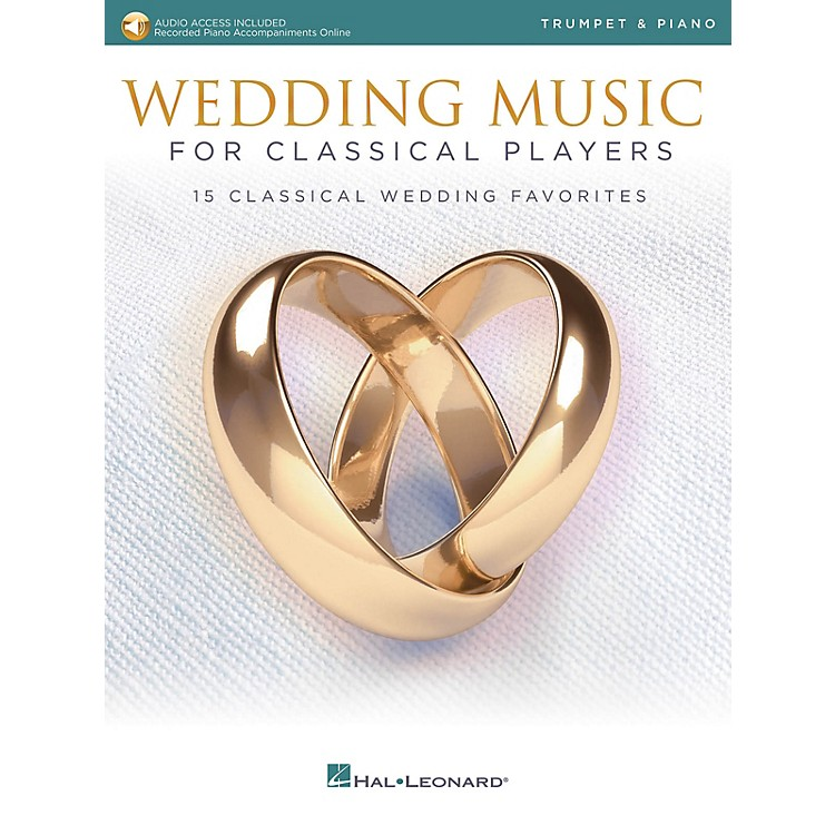 Hal LeonardWedding Music for Classical Players - Trumpet and Piano Book/Audio Online