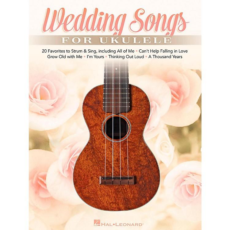 Hal LeonardWedding Songs For Ukulele - 20 Favorites to Strum & Sing