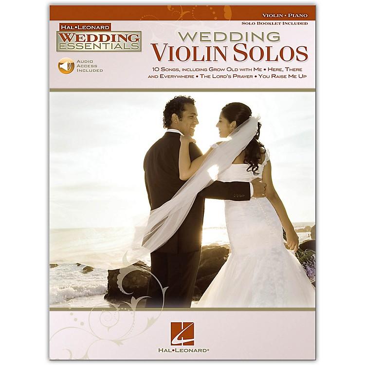 Hal LeonardWedding Violin Solos - Wedding Essentials Series Book/Online Audio