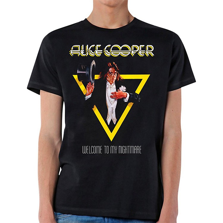 Alice Cooper Welcome To My Nightmare T-Shirt Large
