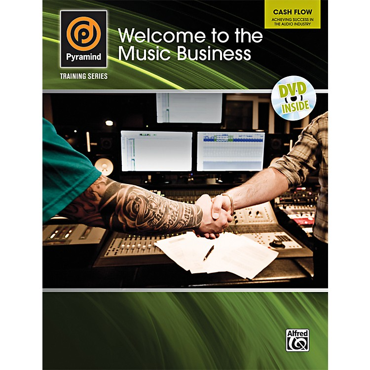 Alfred Welcome to the Music Business Book & DVD