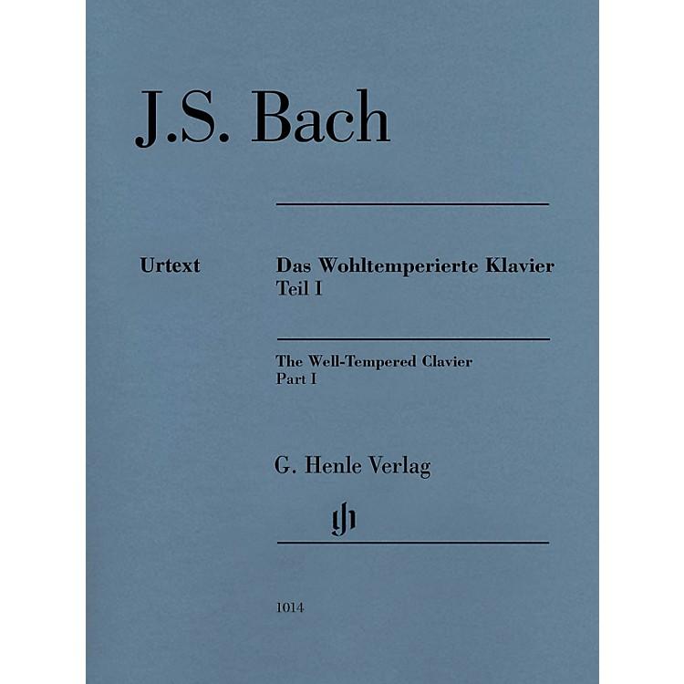 G. Henle VerlagWell-Tempered Clavier BWV 846-869 Part I Henle Music Folios Series Softcover by Johann Sebastian Bach