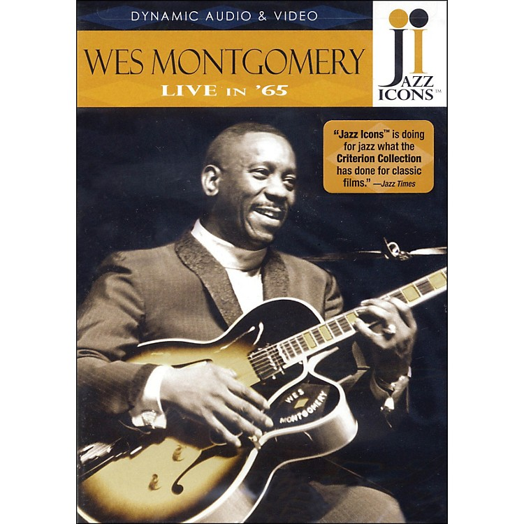 Hal Leonard Wes Montgomery - Live In '65 DVD Jazz Icons DVD