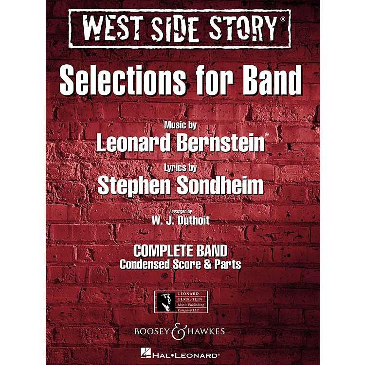 Hal LeonardWest Side Story - Selections for Band Concert Band Level 4-5 Arranged by W.J. Duthoit