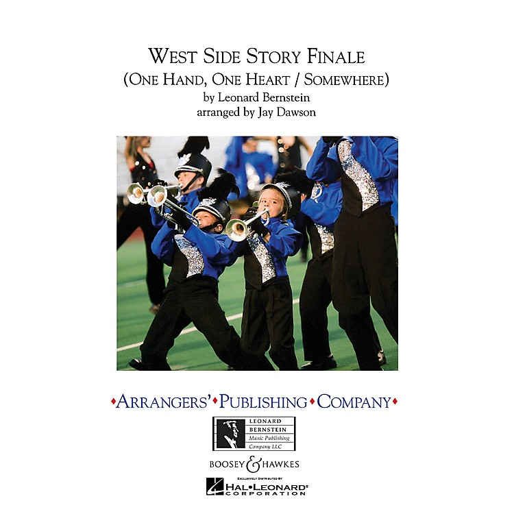 Arrangers West Side Story Finale Marching Band Level 3 Arranged by Jay Dawson