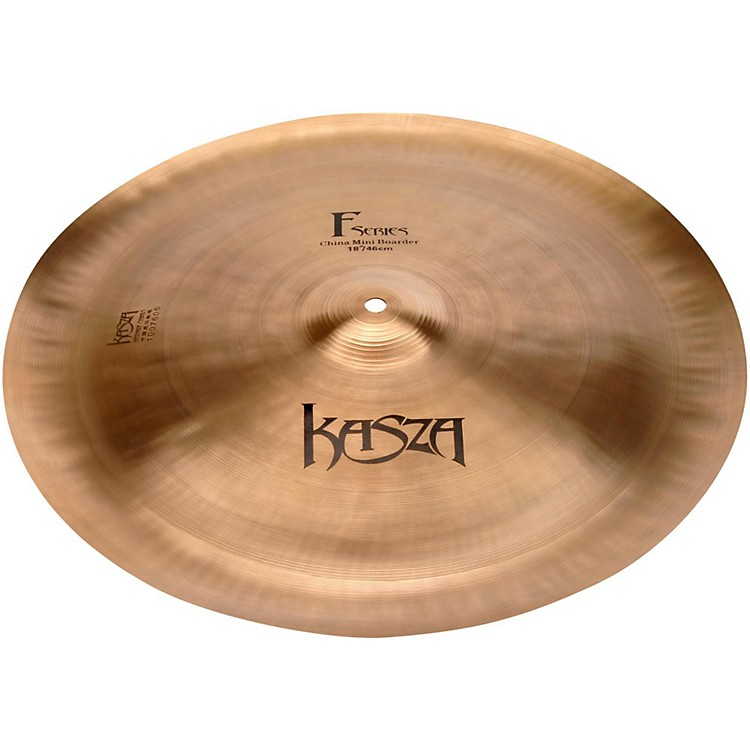 Kasza Cymbals Wester Mini Boarder Fusion China Cymbal 18 in.