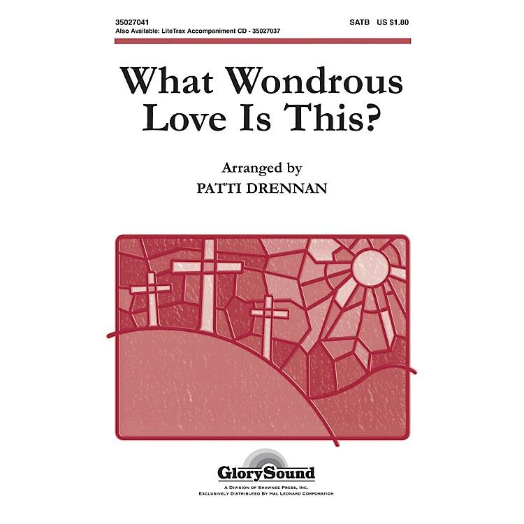 Shawnee PressWhat Wondrous Love Is This (American Folk Hymn) SATB arranged by Patti Drennan
