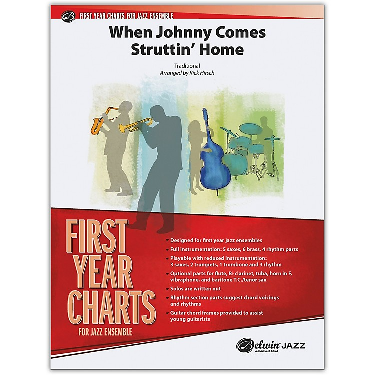 BELWINWhen Johnny Comes Struttin' Home Conductor Score 1 (Easy)