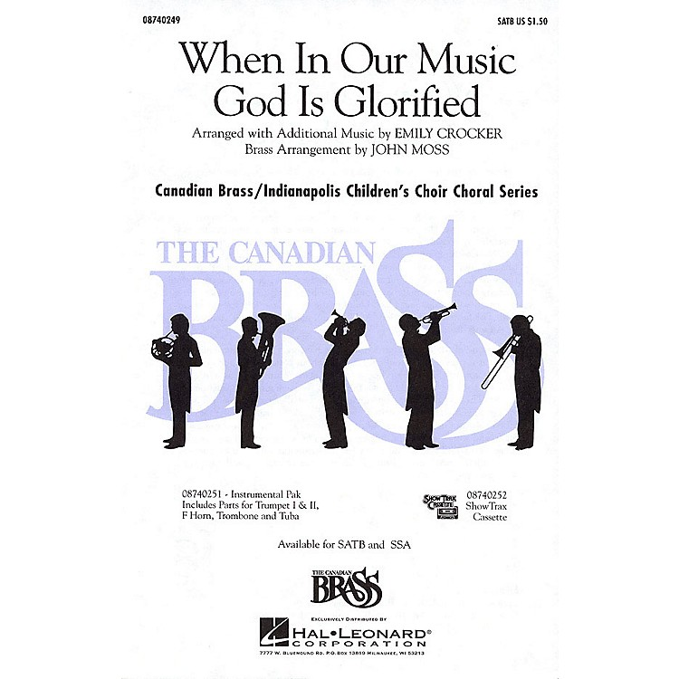 Hal LeonardWhen in Our Music God Is Glorified SSA Composed by Fred Pratt Green