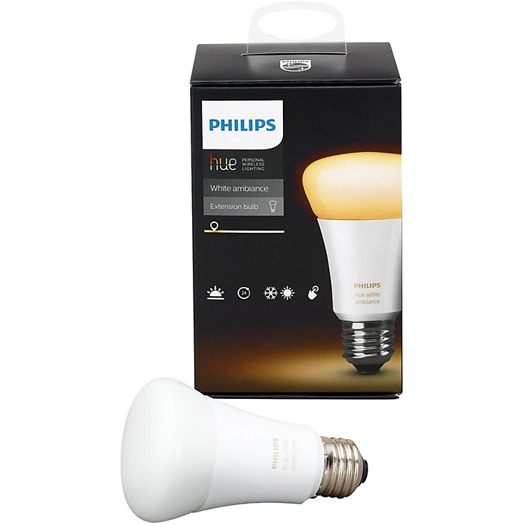 Philips Hue White Ambiance A19 Single Bulb
