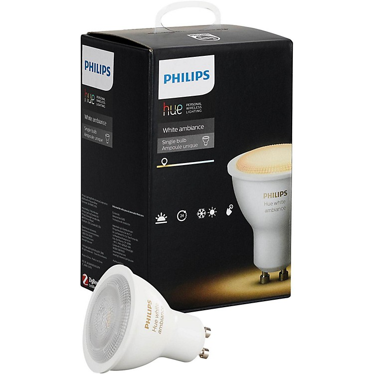 Philips Hue White Ambiance GU10 Single Bulb