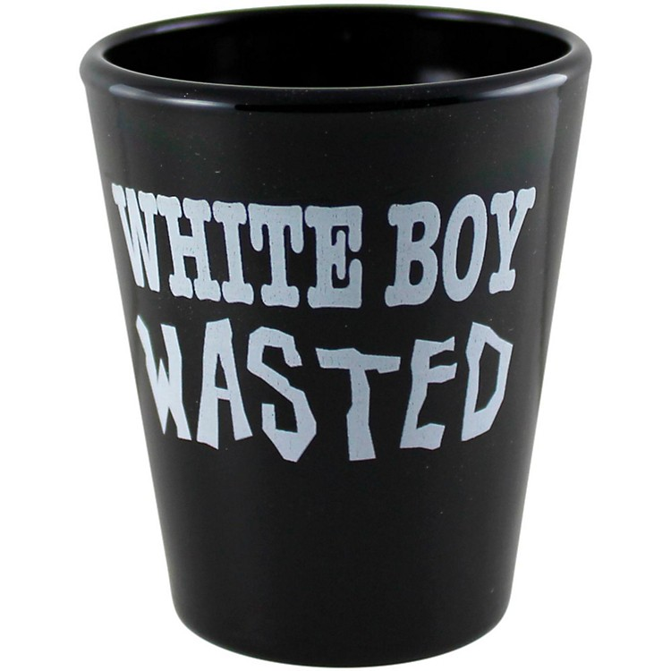C&D VisionaryWhite Boy Wasted Shot Glass