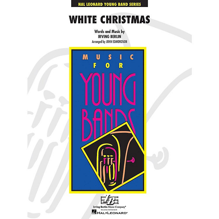 Hal Leonard White Christmas - Young Concert Band Level 3 by John Edmondson