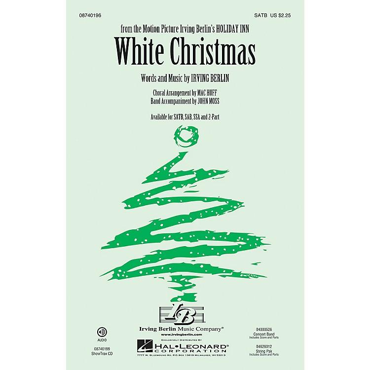 Hal LeonardWhite Christmas 2-Part Arranged by Mac Huff