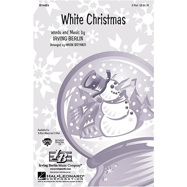Hal LeonardWhite Christmas 2-Part arranged by Mark Brymer