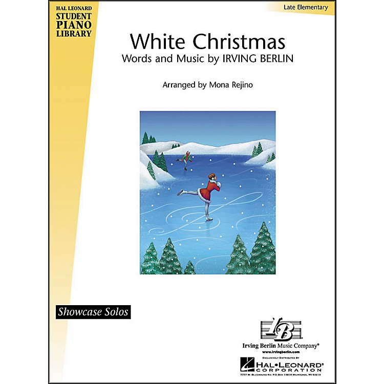 Hal Leonard White Christmas Late Elementary Hal Leonard Student Piano Library by Mona Rejino
