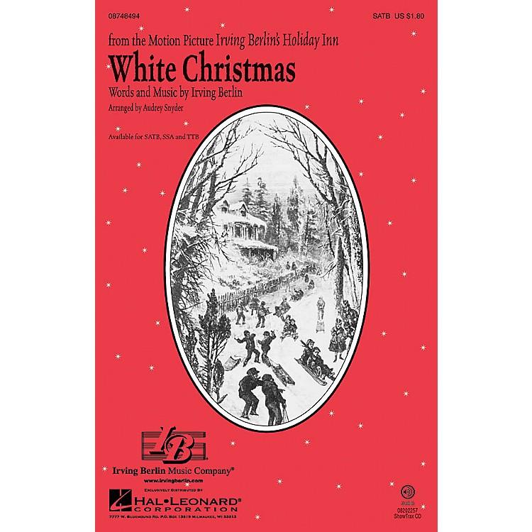 Hal LeonardWhite Christmas SATB arranged by Audrey Snyder