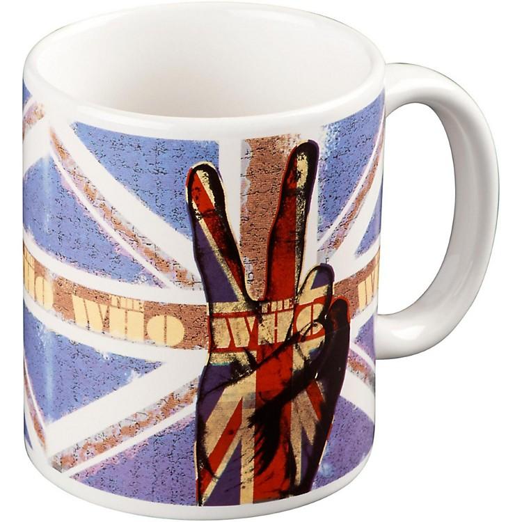 ROCK OFFWho Peace Fingers Mug