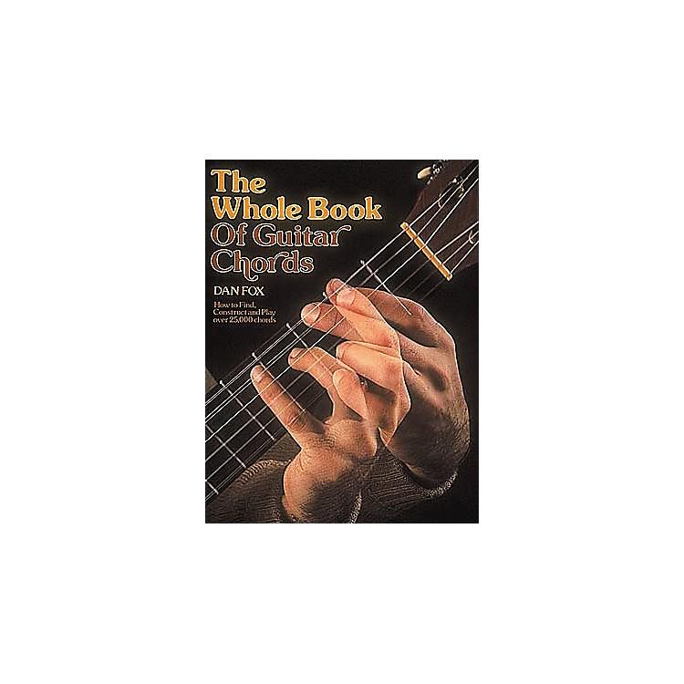 G. SchirmerWhole Book of Guitar Chords Book