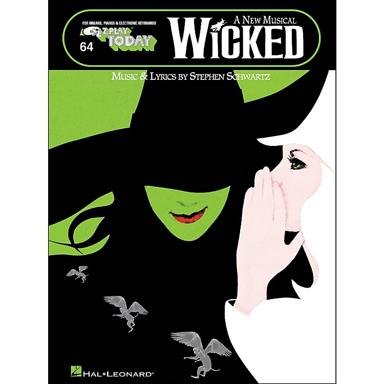 Hal Leonard Wicked A New Musical E-Z Play 64