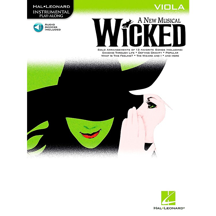 Hal Leonard Wicked for Viola Book/Online Audio