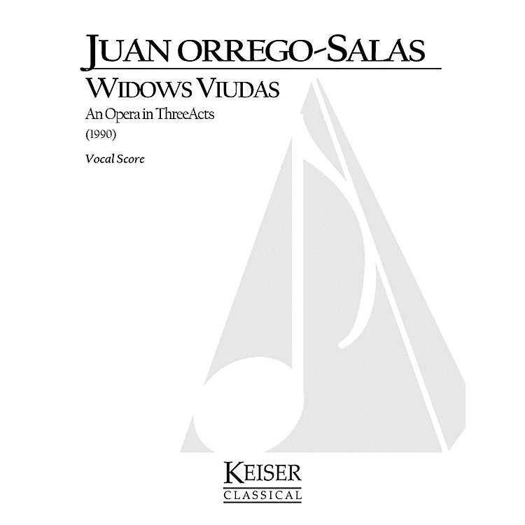 Lauren Keiser Music PublishingWidows (Viudas) (Opera Vocal Score) LKM Music Series  by Juan Orrego-Salas