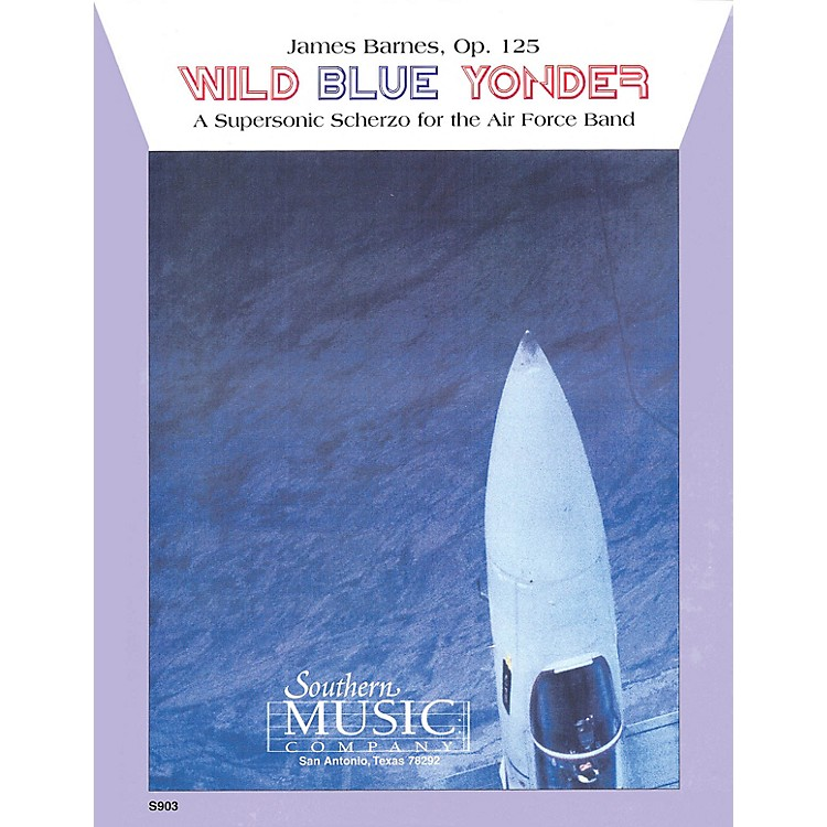 SouthernWild Blue Yonder (Oversized Score) Concert Band Level 6 Composed by James Barnes