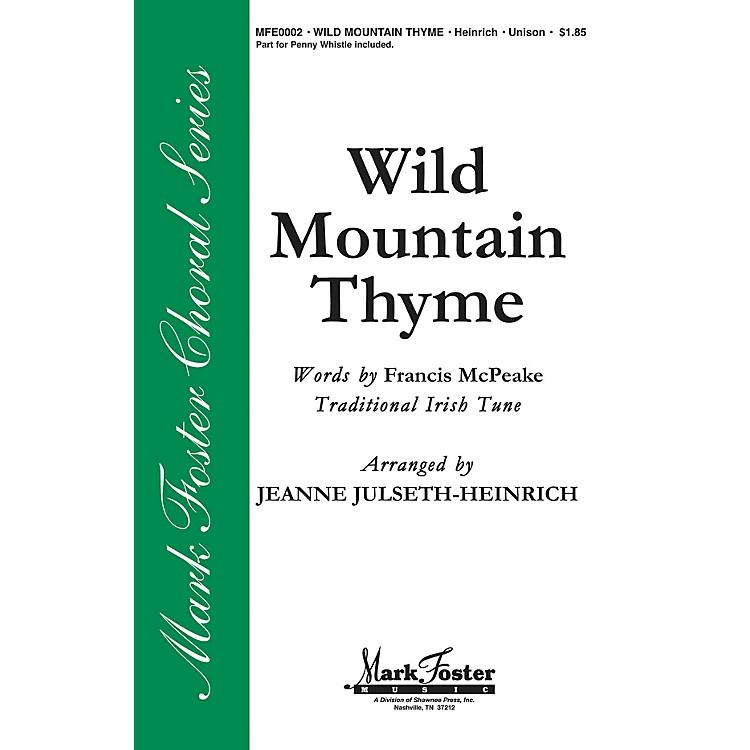 Shawnee PressWild Mountain Thyme 2-Part arranged by Jeanne Julseth-Heinrich