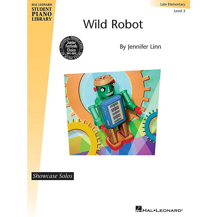 Hal Leonard Wild Robot Piano Library Series by Jennifer Linn (Level Late Elem)