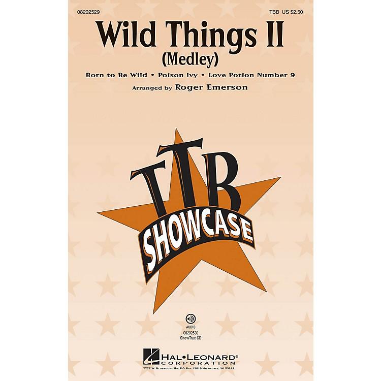 Hal LeonardWild Things II (Medley) ShowTrax CD Arranged by Roger Emerson