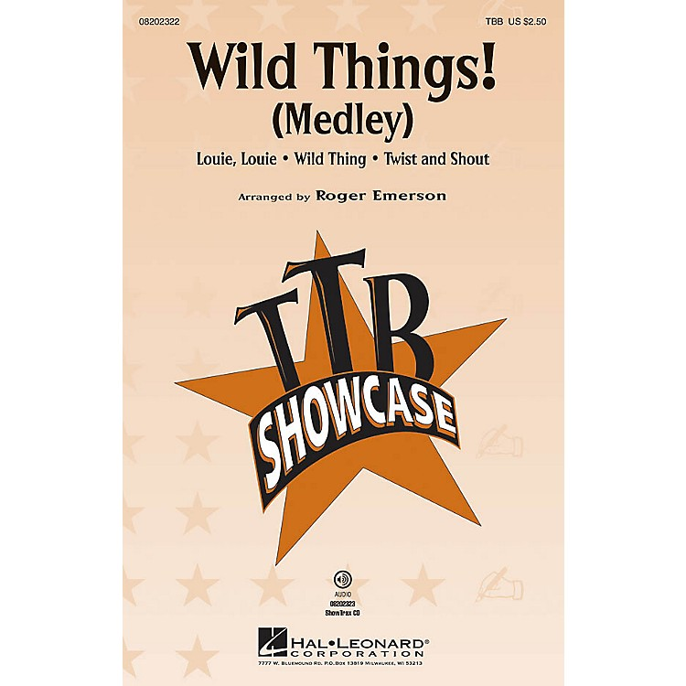 Hal LeonardWild Things! (Medley) ShowTrax CD Arranged by Roger Emerson
