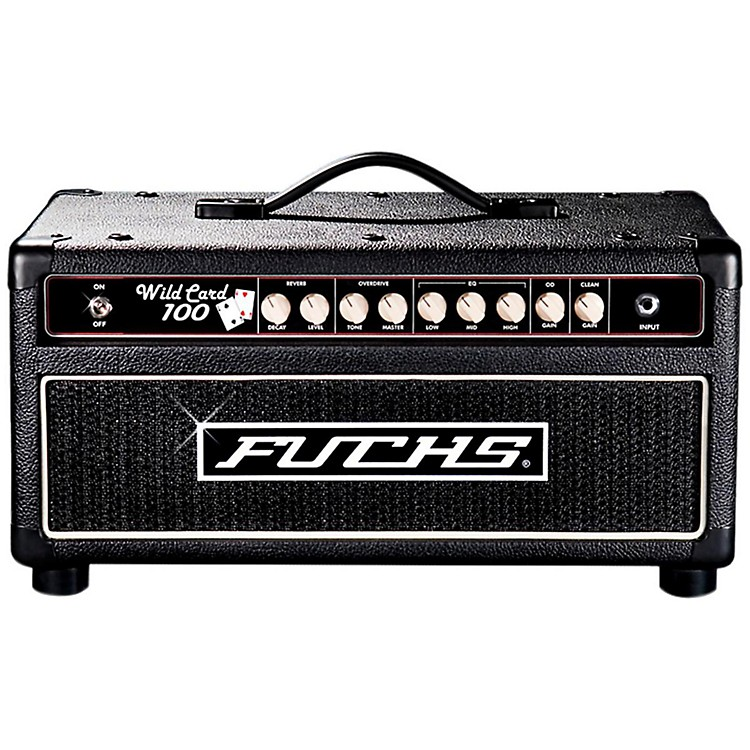 fuchs wildcard 100w tube guitar head and 4 button artist footswitch kit music123. Black Bedroom Furniture Sets. Home Design Ideas