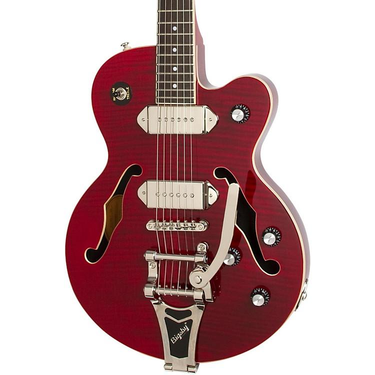EpiphoneWildkat Semi-Hollowbody Electric Guitar with BigsbyAntique NaturalChrome