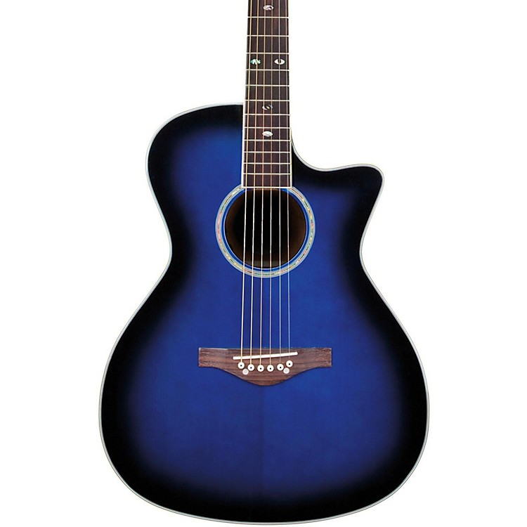 Daisy RockWildwood Acoustic-Electric GuitarRoyal Blue Burst