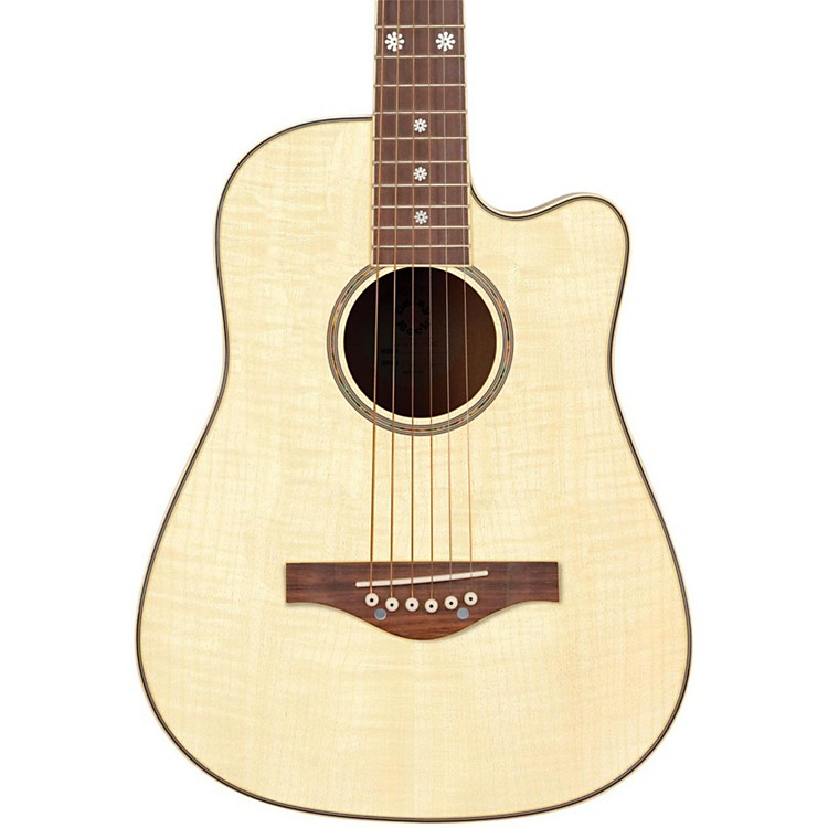 Daisy Rock Wildwood Short Scale Acoustic Guitar Bleach Blonde