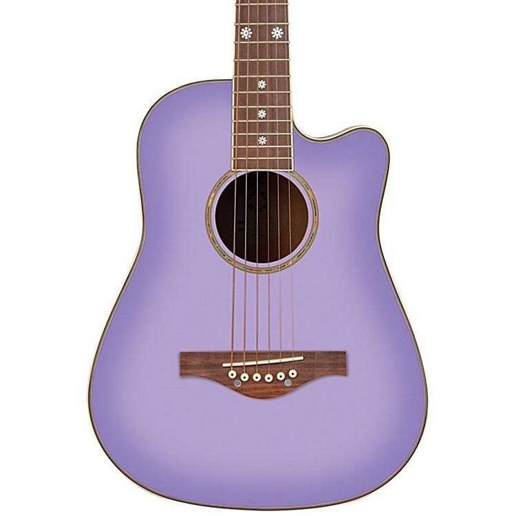 Daisy RockWildwood Spruce Top Cutaway Acoustic GuitarPurple Daze