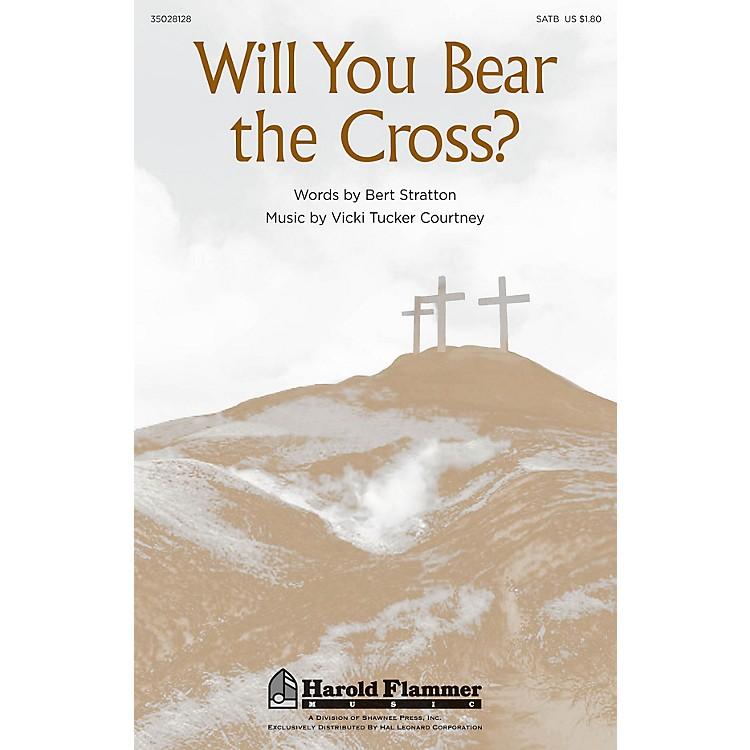 Shawnee PressWill You Bear the Cross? SATB composed by Vicki Tucker Courtney