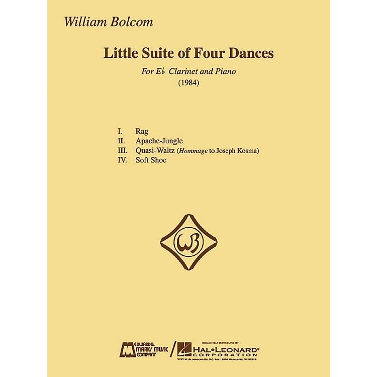 Edward B. Marks Music CompanyWilliam Bolcom - Little Suite of Four Dances E.B. Marks Series Composed by William Bolcom