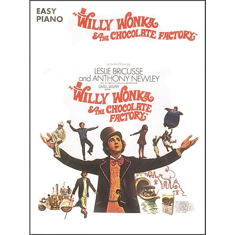 Hal LeonardWilly Wonka & The Chocolate Factory For Easy Piano
