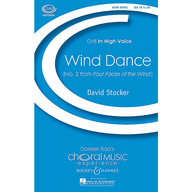 Boosey and HawkesWind Dance (No. 2 from Four Faces of the Wind) SSA composed by David Stocker
