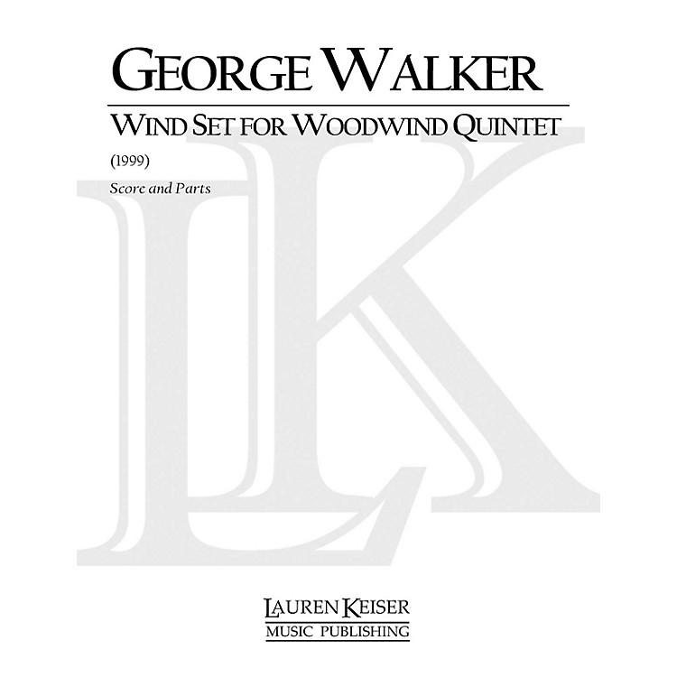 Lauren Keiser Music PublishingWind Set for Woodwind Quintet (Woodwind Quintet) LKM Music Series by George Walker