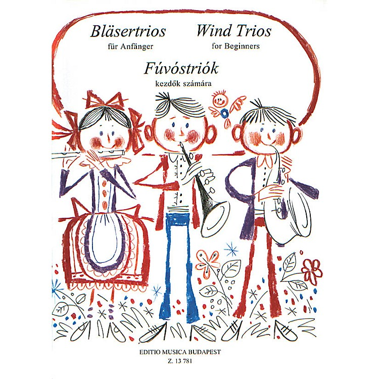 Editio Musica BudapestWind Trios for Beginners EMB Series