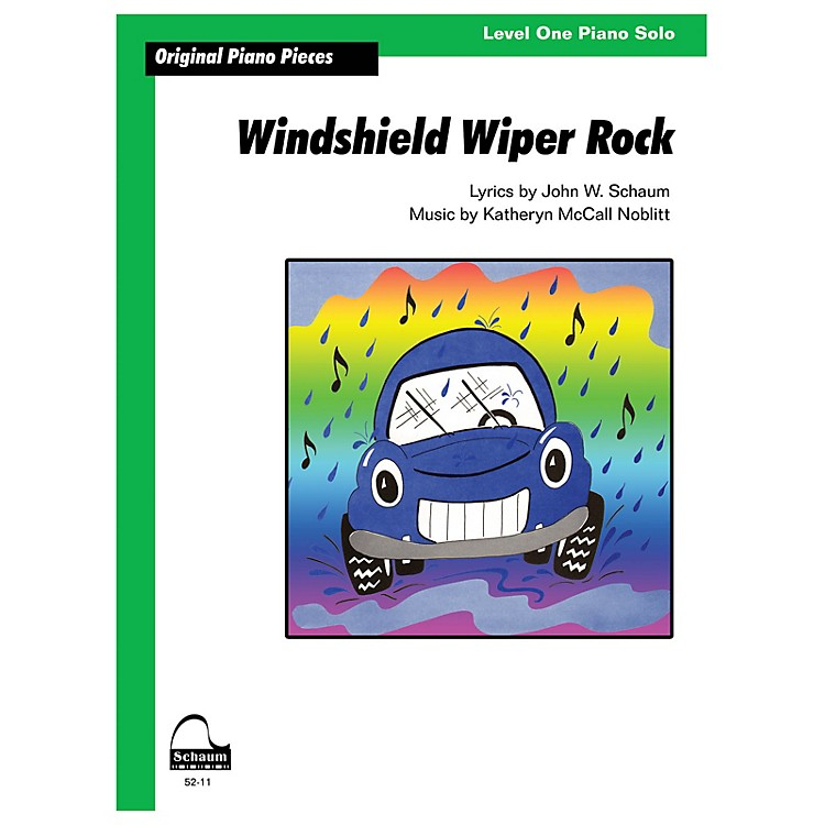 SCHAUMWindshield Wiper Rock Educational Piano Series Softcover