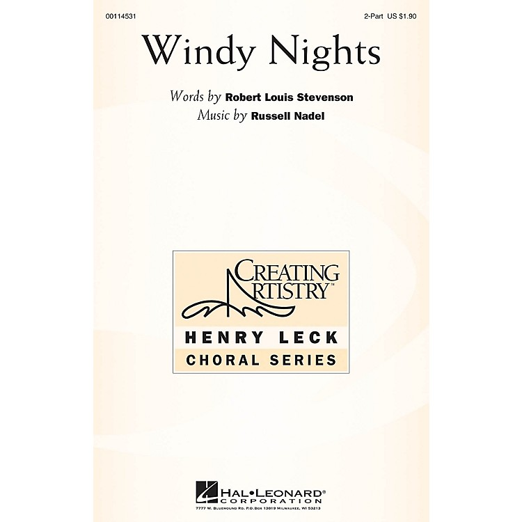 Hal LeonardWindy Nights 2PT TREBLE composed by Russell Nadel